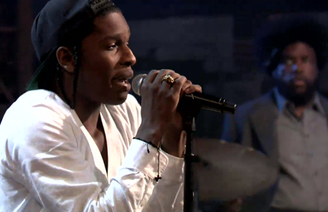 "A$AP Rocky ""Goldie"" (live on 'Fallon')"