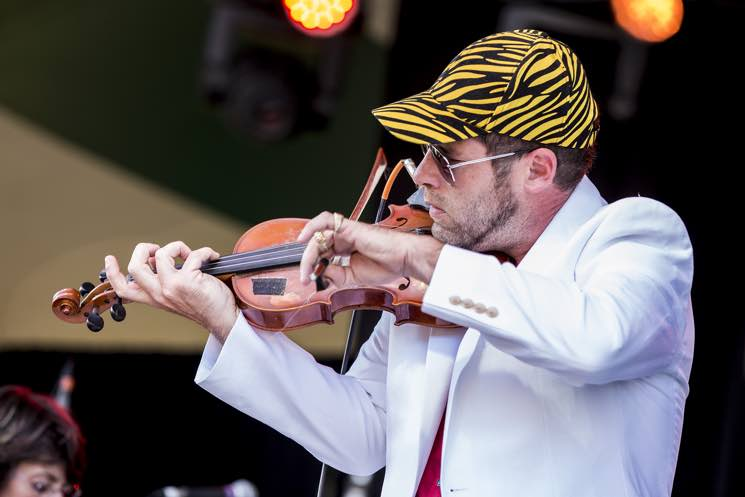 Ashley MacIsaac and Cape Breton's Finest Edmonton Folk Music Festival, Edmonton AB, August 12