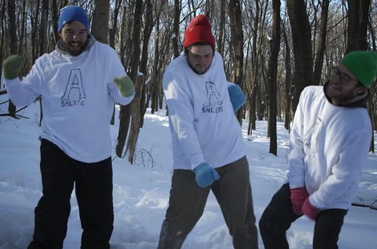 "Ashleys ""On Ice"" (video)"