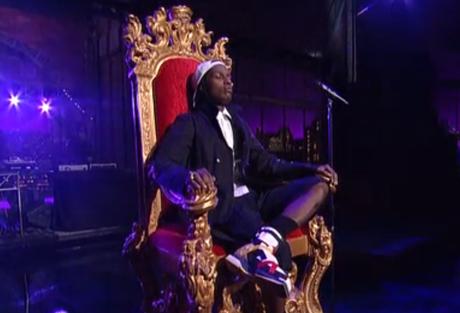 A$AP Rocky 'LongLiveA$AP' / 'Wild for the Night' (live on 'Letterman')