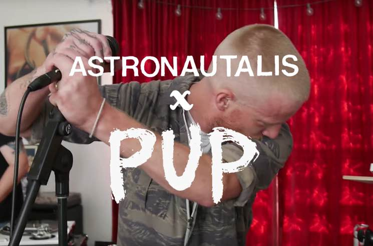 "Watch Astronautalis Cover PUP's ""DVP"""