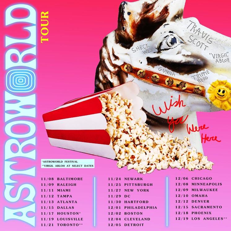 """Travis Scott Details """"Astroworld: Wish You Were Here"""" Tour"""