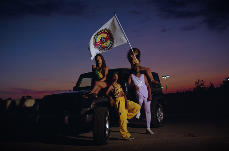 "A Tribe Called Red Get Haviah Mighty and Odario for ""Ba Na Na"""