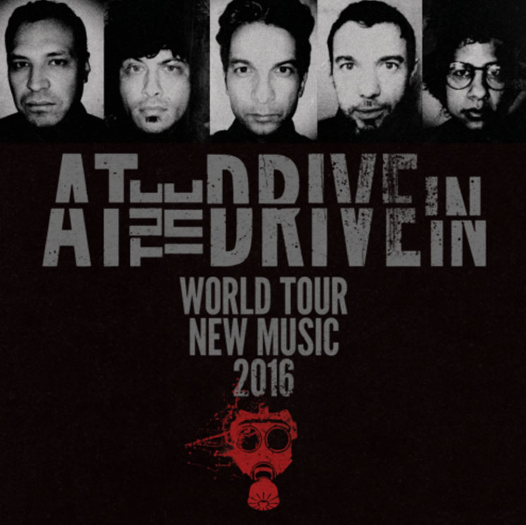 At the Drive-In Cancel Remaining North American Dates