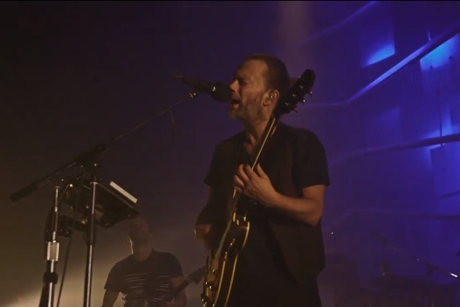 "Atoms for Peace ""Before Your Very Eyes"" (live video)"