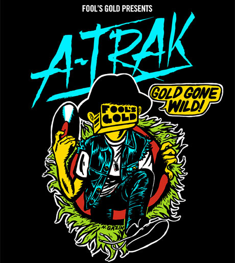 "A-Trak Rolls Out ""Gold Gone Wild"" North American Tour, Premieres New Low Pros Track with Travi$ Scott"
