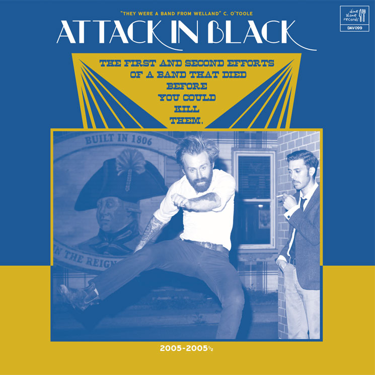 Attack in Black's First EPs Compiled for New Vinyl Release