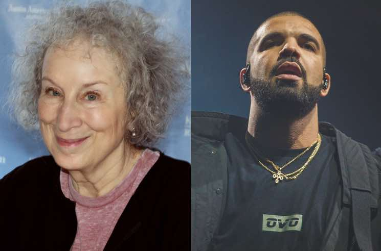 ​Margaret Atwood Wants Drake to Make a Cameo in the Next Season of 'The Handmaid's Tale'