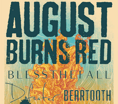 August Burns Red Announce Headlining North American Tour with Blessthefall, Defeater and Beartooth