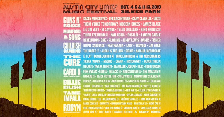 Austin City Limits Music Festival Unveils 2019 Lineup with Guns N' Roses, Childish Gambino, the Cure