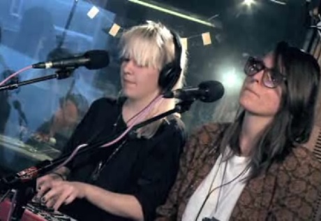 Austra 'None of Dem' (Robyn cover) (live in studio)