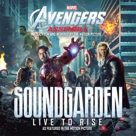 "Soundgarden ""Live to Rise"""
