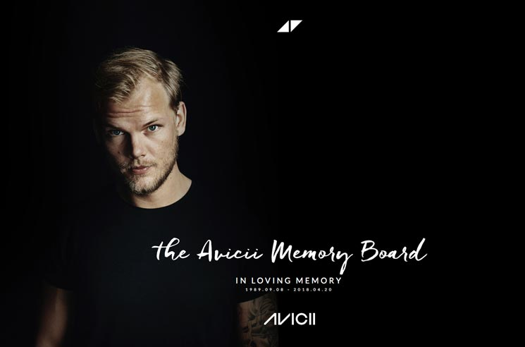 Avicii's Family Launches Digital Memorial