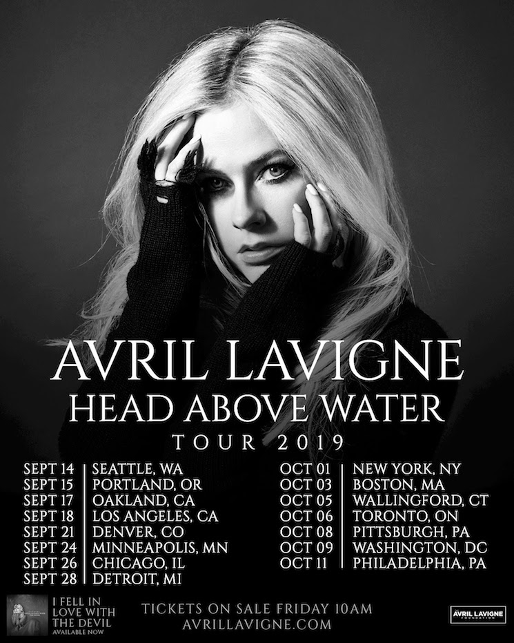 Avril Lavigne Hits Toronto on First Tour in Five Years