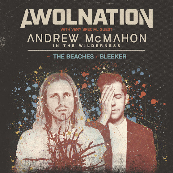 AWOLNATION Plot Tour with Andrew McMahon in the Wilderness