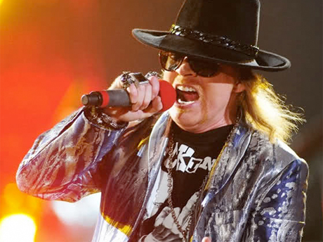 Axl Rose Turns Down Rock and Roll Hall of Fame Induction