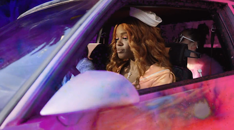 "Azealia Banks ""ATM Jam"" (ft. Pharrell)"" (video)"