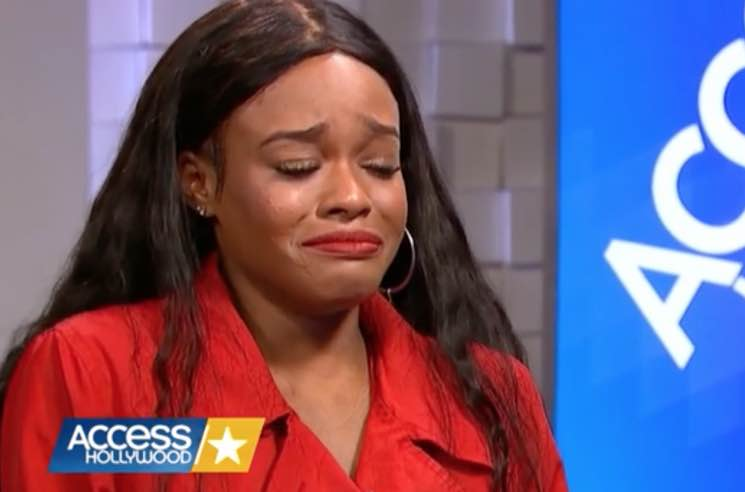 Azealia Banks Breaks Down on 'Access Hollywood' over Russell Crowe Incident
