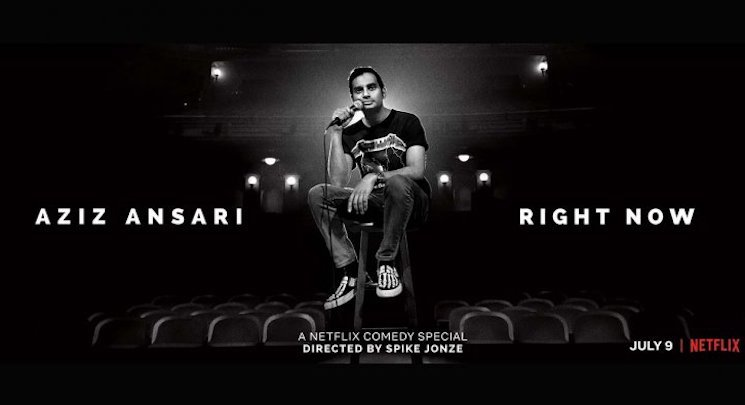 Aziz Ansari Announces New Netflix Special 'Right Now' Directed by Spike Jonze