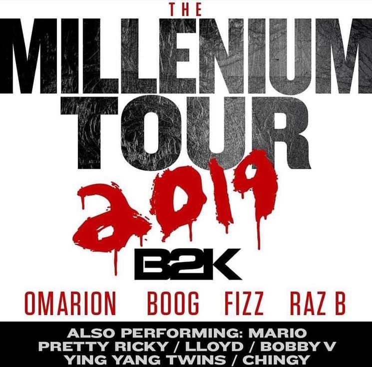 B2K Announce 2019 Reunion Tour