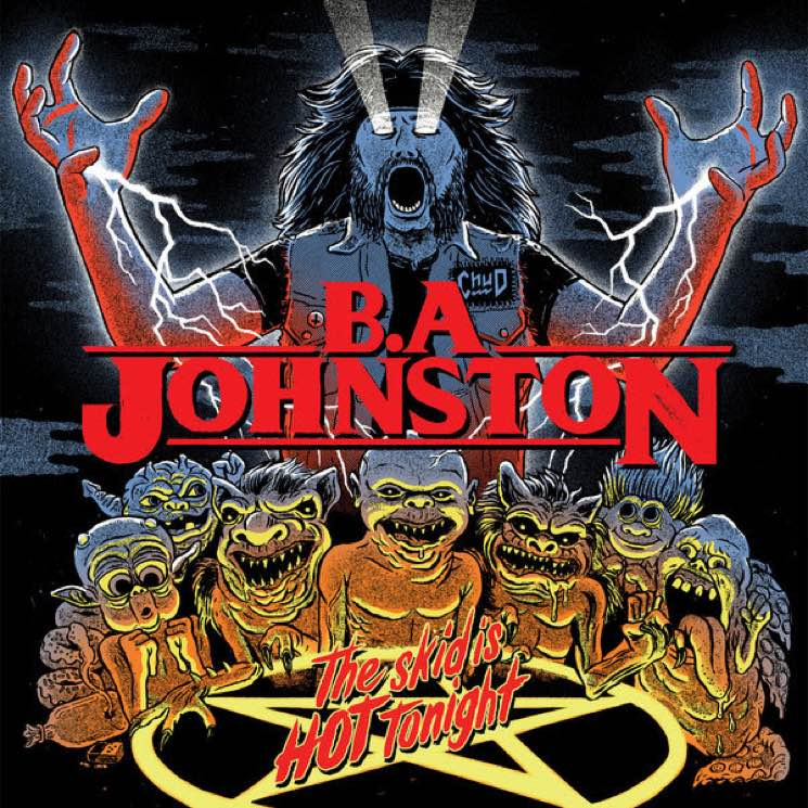 ​B.A. Johnston Announces 'The Skid Is Hot Tonight' LP, Shares New Song Devoted to 'Geddy Lee'