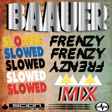 Baauer 'SLOWED Frenzy Mix' (Scion Session)