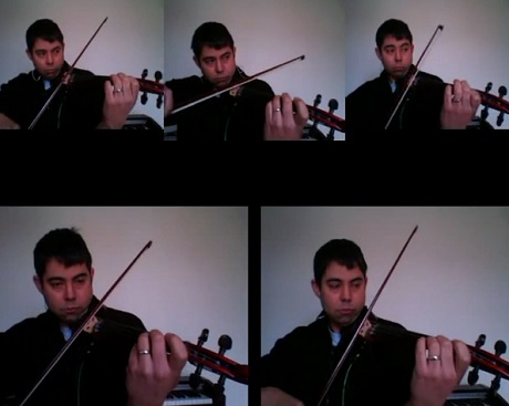 """Babe Rainbow """"Dub Music"""" (Performed by Yorkshire Fiddler) (video)"""