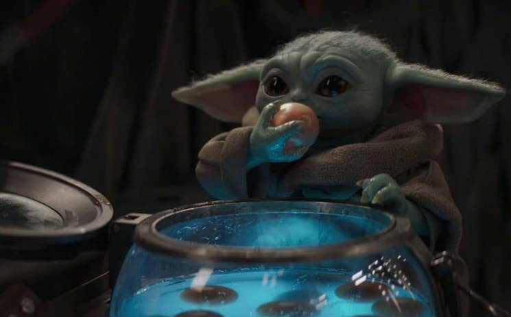 The Internet Can't Stop Fighting After Baby Yoda Ate Frog Lady's Endangered Eggs on 'The Mandalorian'
