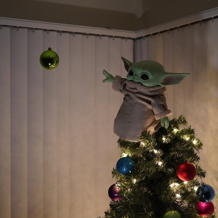 Baby Yoda Is Replacing Stars and Angels Atop Christmas Trees
