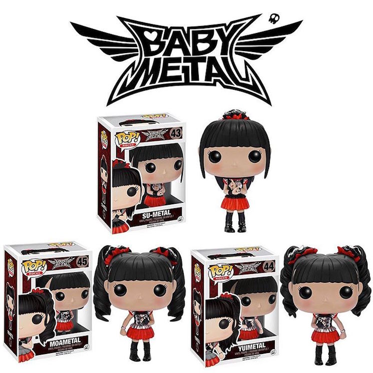 Babymetal Immortalized as Funko Toys