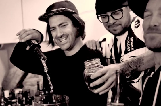 "Backburner ""Bottle Caps"" (video)"