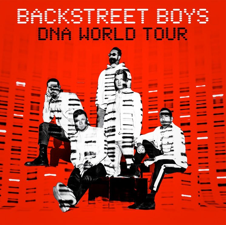 """Backstreet Boys Are Bringing Their """"DNA World Tour"""" Back to Canada and the U.S."""