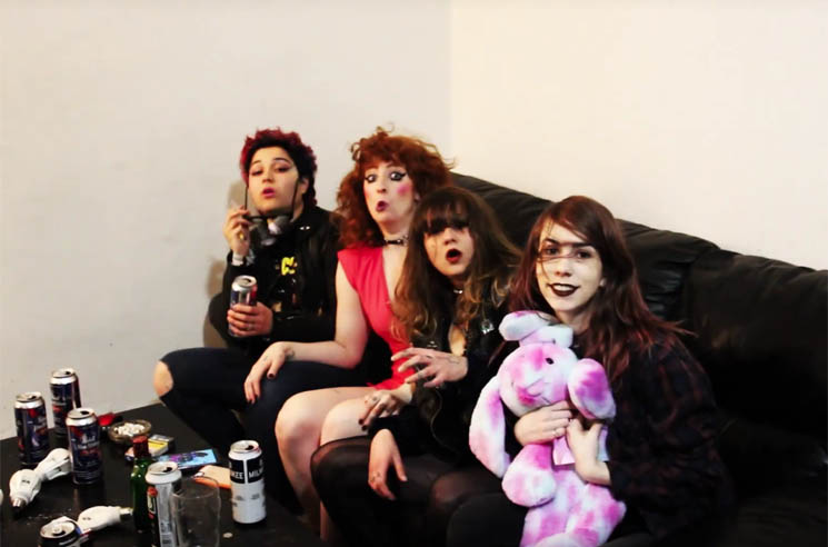​Bad Waitress Party Hard in 'What Do I Want' Video