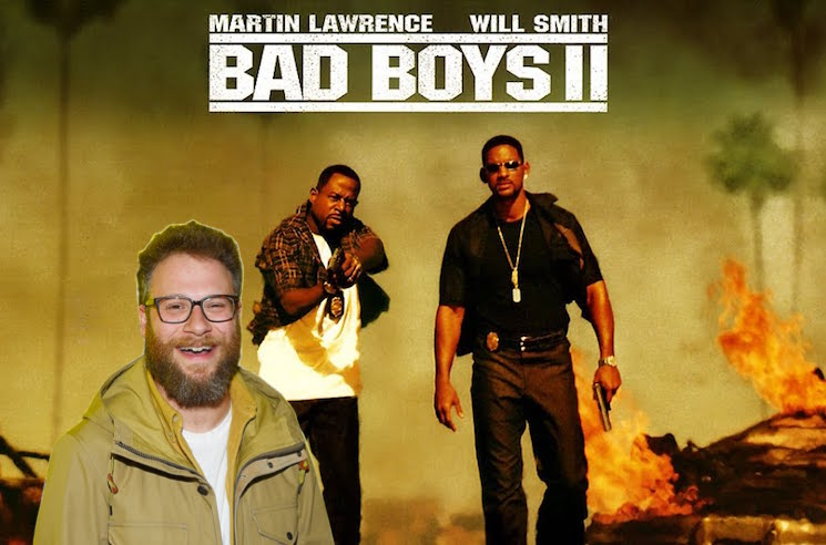 Seth Rogen Reveals He Helped Write 'Bad Boys II'