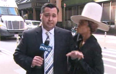 WTF: Erykah Badu Crashes New York News Broadcast