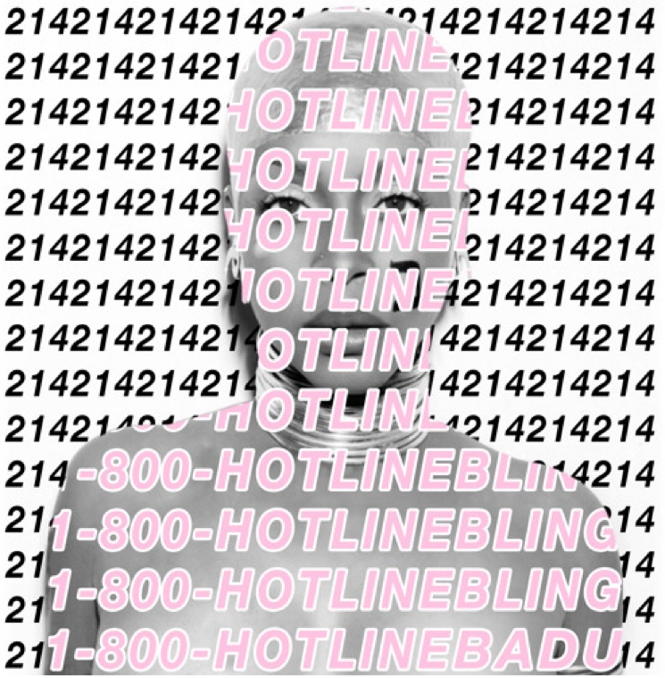 "Erykah Badu ""HOTLINE BLING BUT U CAINT USE MY PHONE MIX"" (Drake remix)"