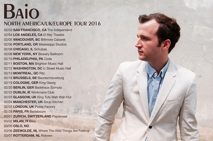 Baio Takes 'The Names' on Tour