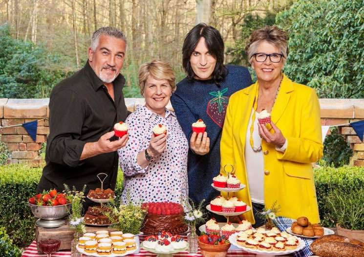 Noel Fielding Banned from Wearing 'Wacky' Outfits on 'The Great British Bake Off'