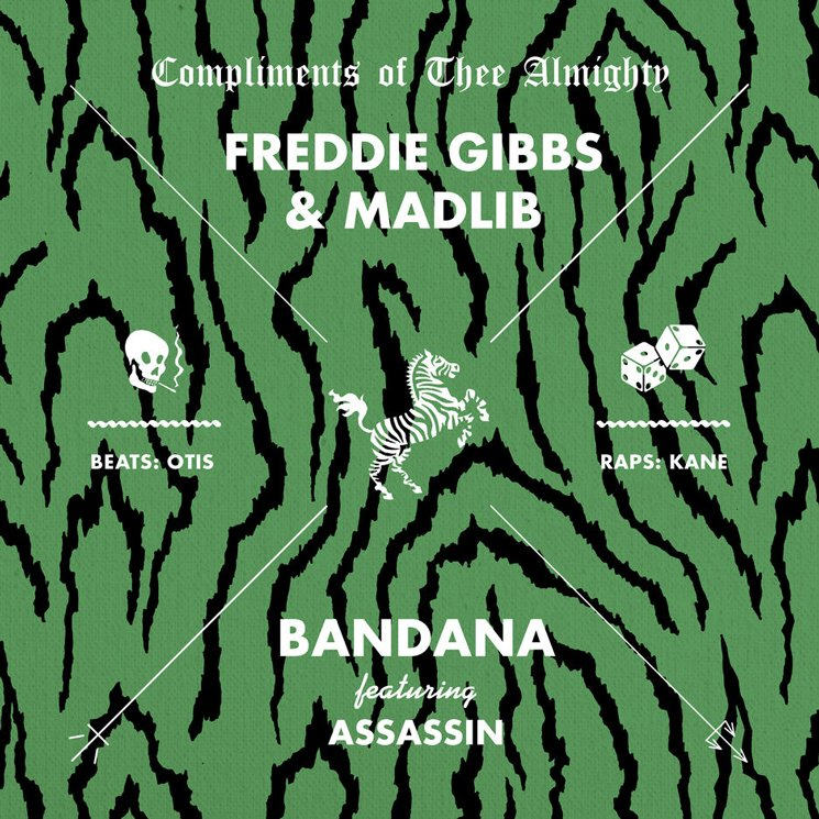 "Freddie Gibbs and Madlib Share New Song ""Bandana"""