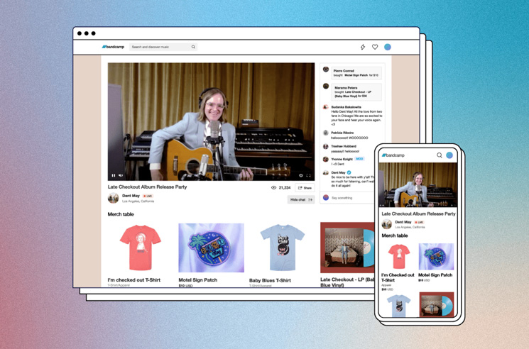 Bandcamp Now Offers Ticketed Livestream Shows