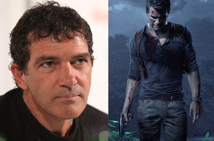 Antonio Banderas Joins the 'Uncharted' Movie