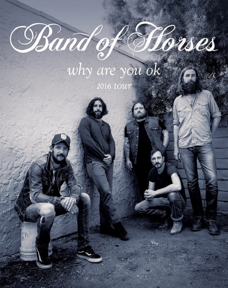 Band of Horses Take 'Why Are You OK' on North American Tour