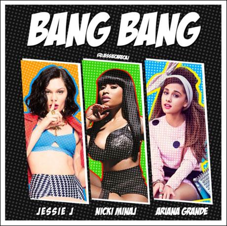 "Jessie J, Ariana Grande & Nicki Minaj ""Bang Bang"""