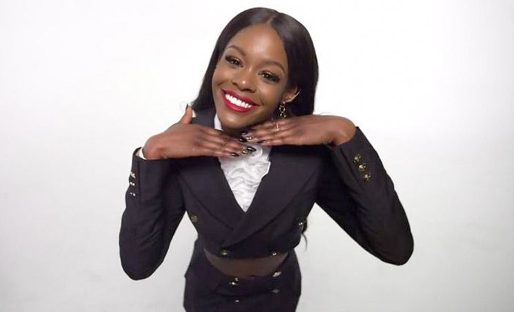 "Azealia Banks Booked for Assault After Biting Security Guard ""in the Boob"""
