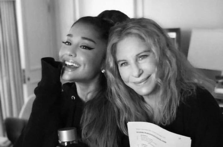 "​Watch Ariana Grande Join Barbra Streisand Onstage for ""No More Tears"""