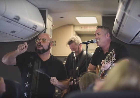 Southwest Airlines Is Threatening Customers with More In-flight Impromptu Concerts