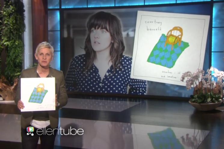 """Courtney Barnett """"Depreston"""" (live on 'Ellen')"""