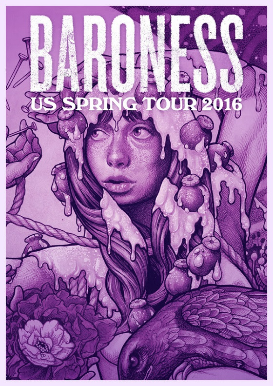 Baroness Announce North American 'Purple' Dates