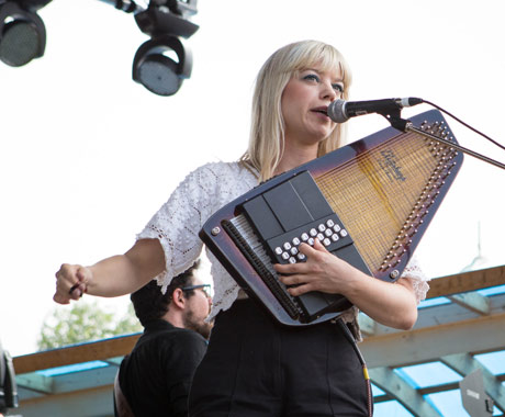 Basia Bulat Main Stage, Guelph ON, July 27