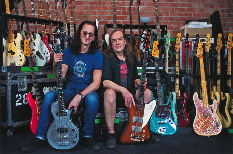 Geddy Lee's Bass Guitar Collection Is Getting a Museum Exhibit